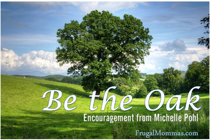 Be the Oak - by Michelle Pohl