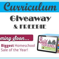 Big Curriculum Giveaway and FREE Audubon Unit Study