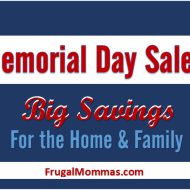 Memorial Day Sales: Big Savings for Home & Family
