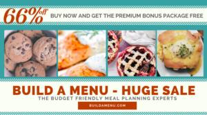 Build A Menu - 15 Frugal Family Snack Recipes
