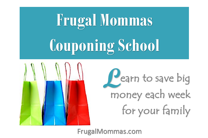 Frugal Mommas Couponing School - Learn to save BIG