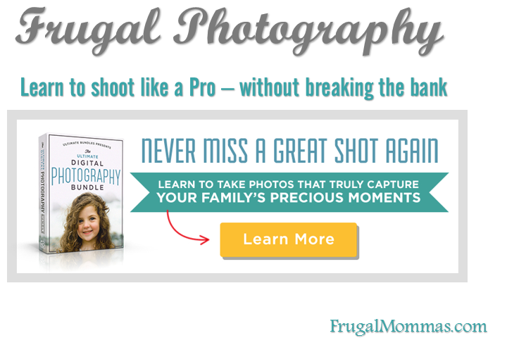 Frugal Photography - Learn to shoot like a pro