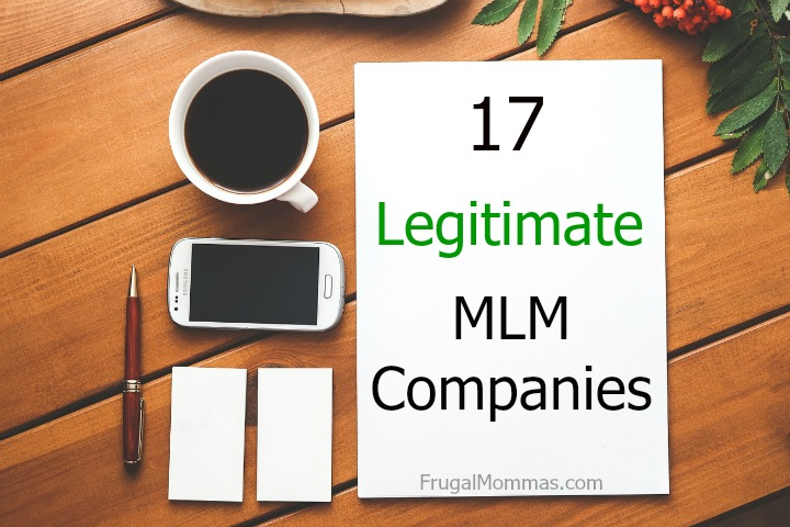 Ever wonder if MLM companies are legitimate? They tend to get a bad rep, but here are 17 legitimate MLMs you can make money from.
