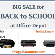 BIG SALE for Back to School: Office Depot