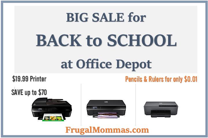 BAck to SCHOOL SAvings - Office Depot