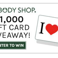 Body Shop & Savings.com $ 1000 Giveaway