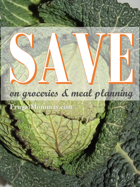 Save on groceries and meal planning
