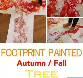 Footprint tree - Frugal Mommas