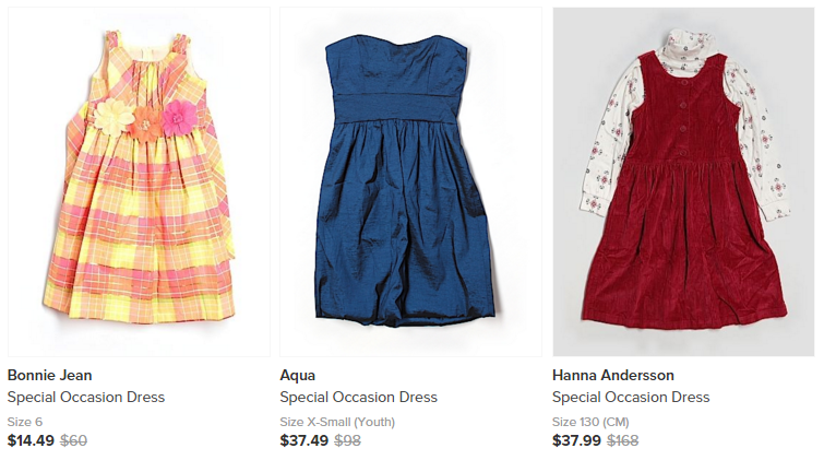 little girls dresses - save money on clothing with thredup
