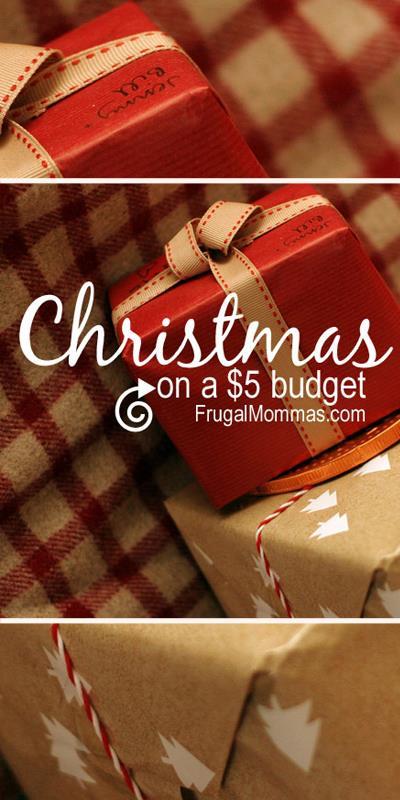 Save Money On Christmas - $5 Budget Options