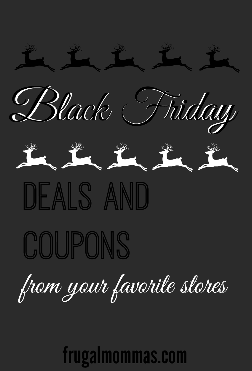Black Friday Deals and Coupons