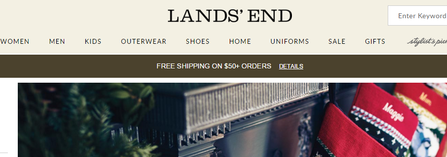 Deals and Coupons - November - Lands End