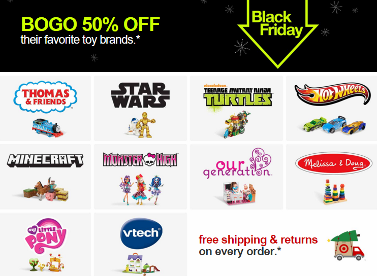 Target Black Friday - Cyber Monday
