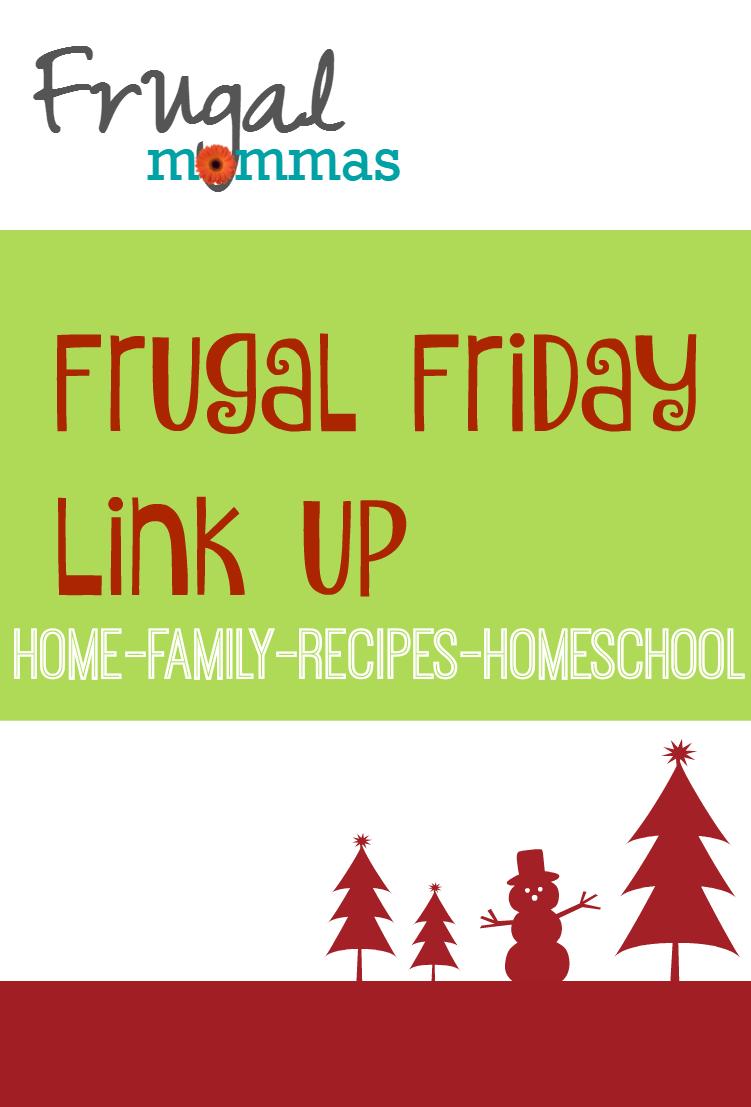 frugal friday link up