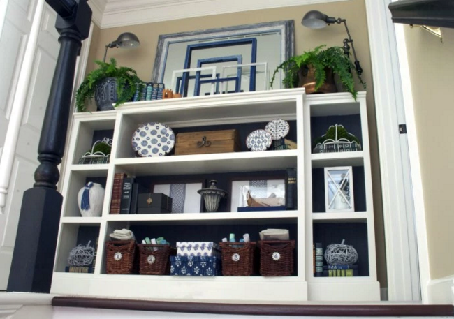 DIY Home Projects using Glue - bookcase