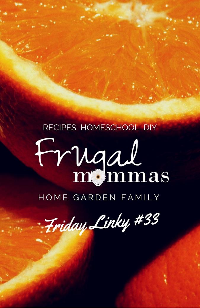 Frugal Mommas Friday Linkup