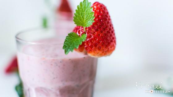 strawberry lemon summer slushy essential oils recipe