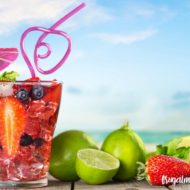 Summertime Essential Oils Raspberry Limeade Drink