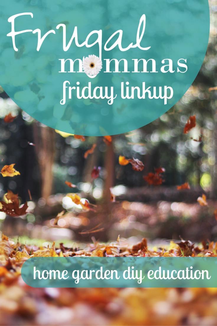 frugal mommas friday link