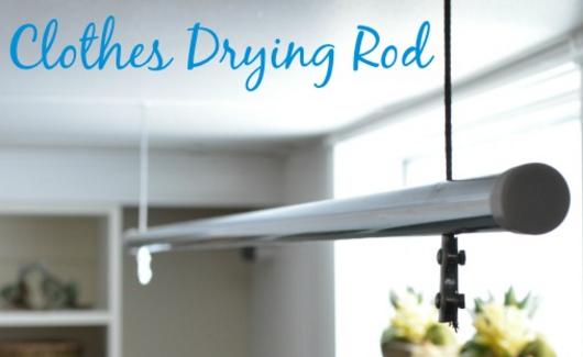 Home and garden - DIY Clothes Rod