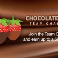 Gift Card Fun with Chocolate Dipped Challenge from Swagbucks