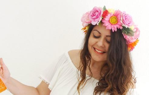 Bird's Party - DIY Flower Crown