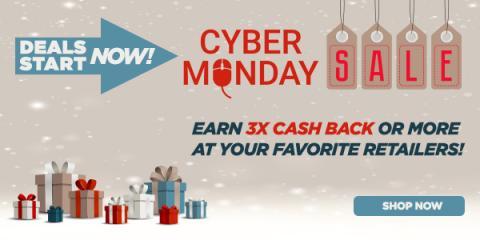 Cyber Monday Cash Back