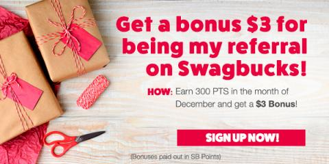 Swagbucks Gift Card Bonus Points