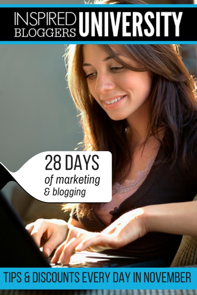 Online Marketing Blogging Help - Inspired Bloggers University