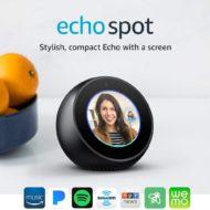 Echo Spot on SALE – Stylish Echo Spot with Screen!