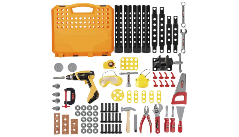 Construction Toy Workbench